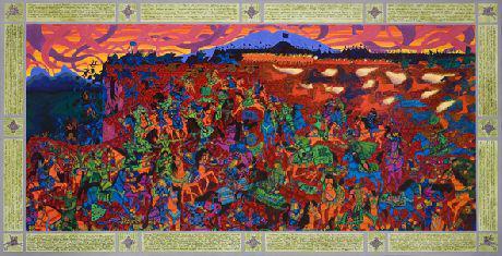 """Kanzhalskaya battle"" 300th anniversary"