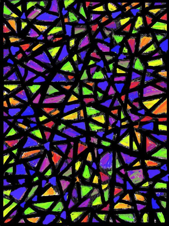 Childhood patchwork