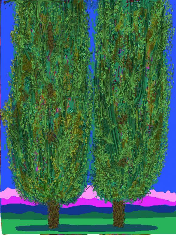 Poplars of my childhood