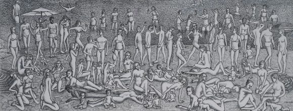 Wild Beach of Youth in Los Canyos (fragment)
