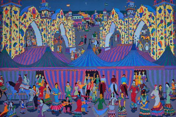 Feria in Andalusia