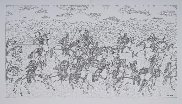 Amazons from Kenzhe 1