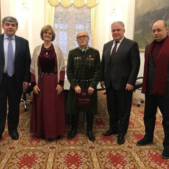 The Head of the Government of Kabardino-Balkaria met with the Honoured artist Muhadin Kishev
